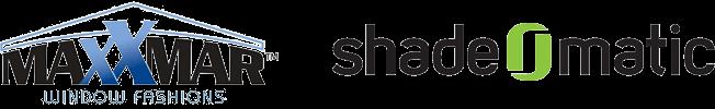 Maxxmar Window Fashions and shadeomatic logos
